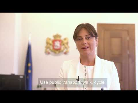 UN Global Road Safety Week: Maia Bitadze, Chairperson of the Committee of the Environmental Protection and Natural Resources, Parliament of Georgia