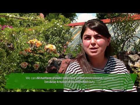 World Environment Day: Alexander and Tamar Mamulashvili continue  their famous ancessor's work